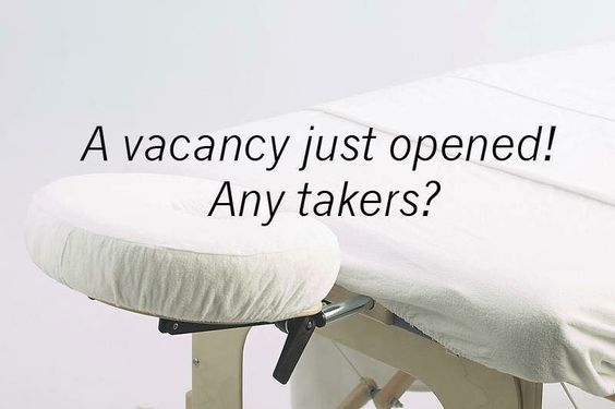 Vacancy massage
